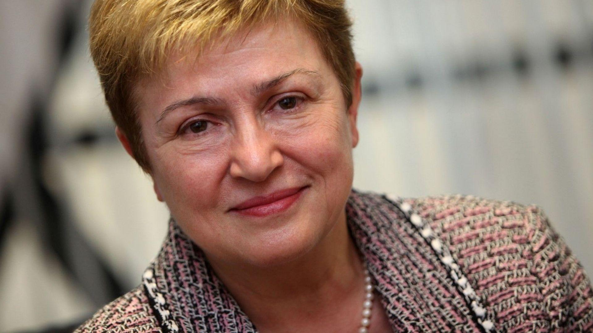 Кристалина Георгиева оглавява Световната банка от 1 февруари