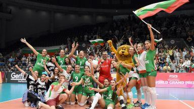 България с втора победа в Златната лига