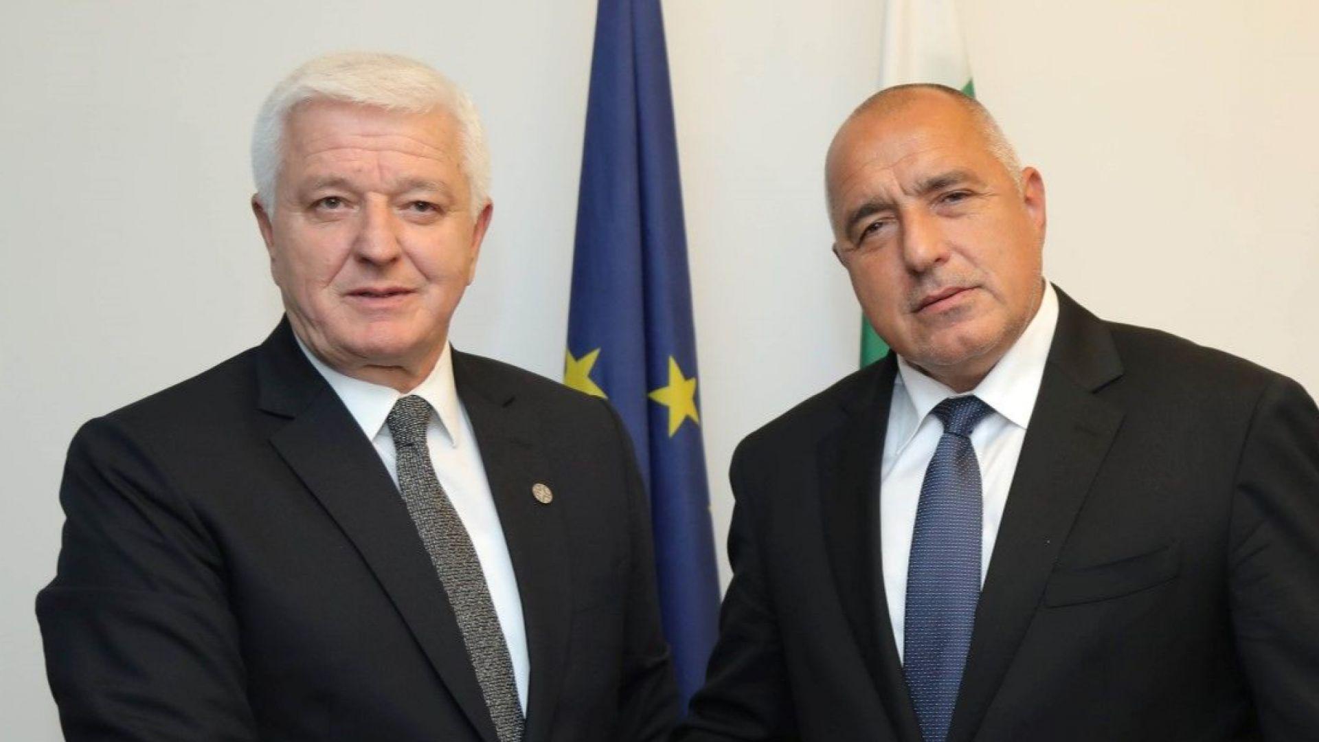 Бойко Борисов и премиерът на Черна гора Душко Маркович