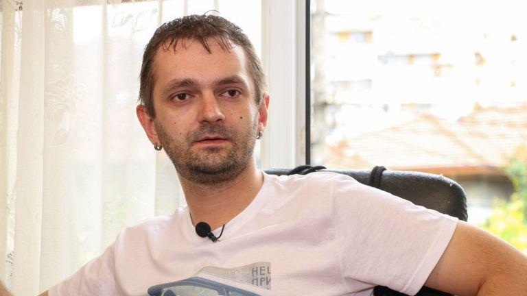 Болният от МС Марин, който не скри марихуаната си от полицаите