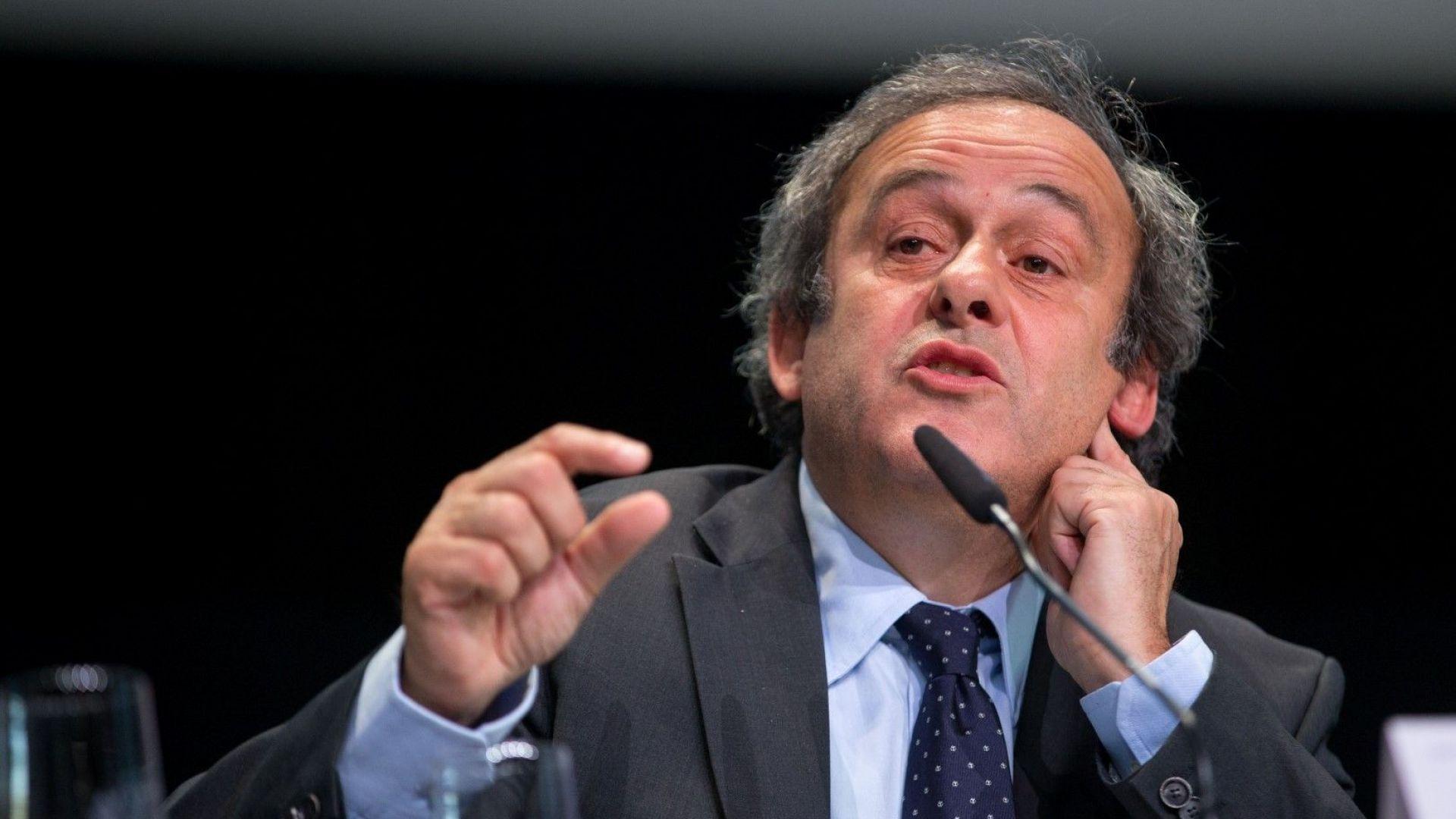 Адвокатът на Платини излезе с официална позиция за задържането му