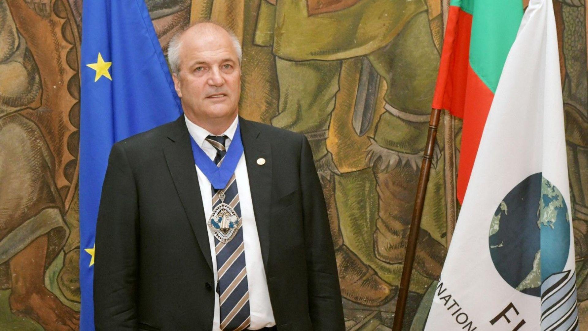 Асен Македонов оглави световната федерация за недвижими имоти FIABCI