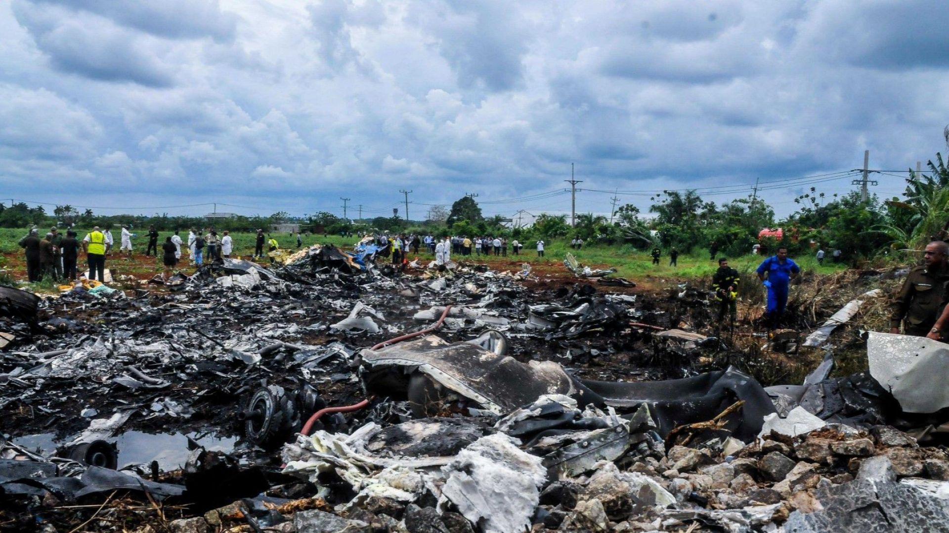 В Куба е обявен национален траур за жертвите на самолетната катастрофа