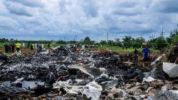 Жертвите на авиокатастрофата в Куба станаха 111
