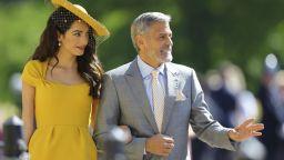 Джордж Клуни не иска да е кръстник на бебето на Хари и Меган
