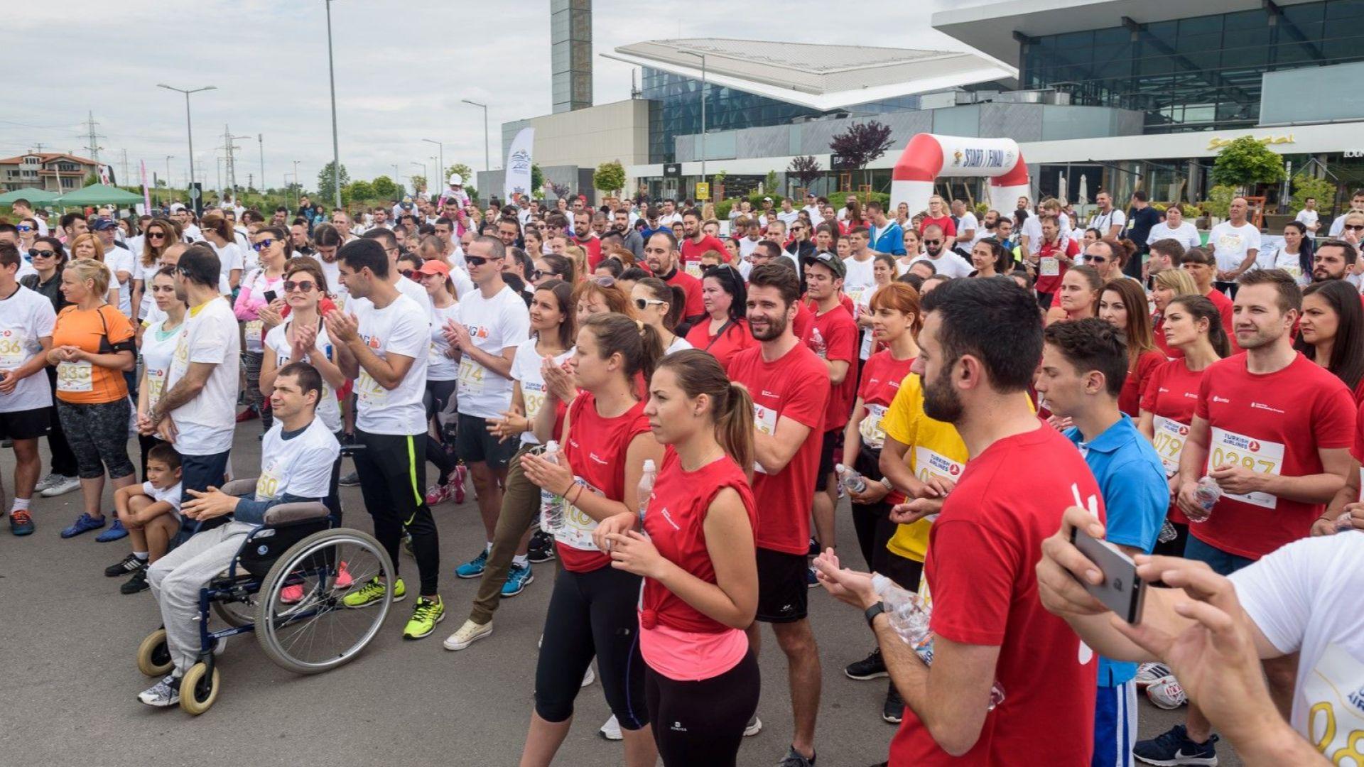 Хора с увреждания и приятелите им с големи сърца тичаха заедно в подкрепа на спорта за всички и създаването на Адаптиран младежки кариерен център