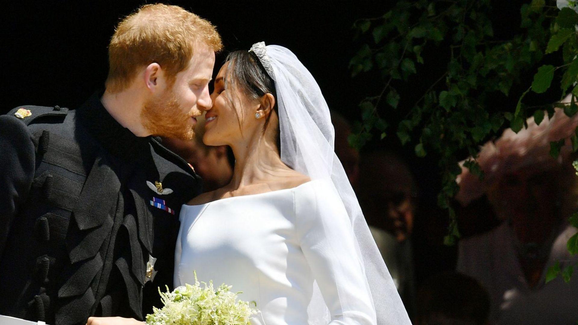 Две години от сватбата на Хари и Меган (видео и снимки)