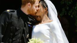 Хари и Меган отбелязаха първата годишнина от сватбата си с непоказвани снимки