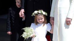 Принцеса Шарлот и принц Джордж - приказни шафери
