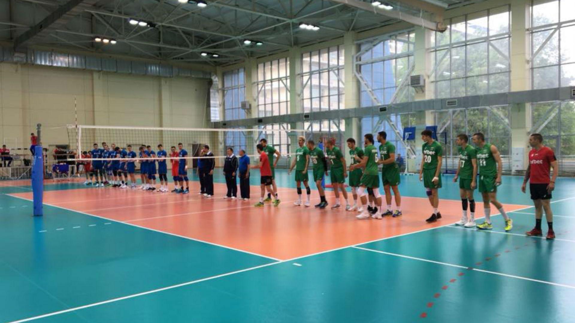 България с нова загуба в Русия