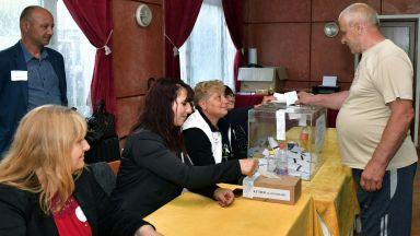 С избирателна активност 58 на сто приключи изборният ден в община Лозница