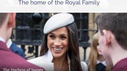 Меган Маркъл вече има свой профил в уебсайта на британското кралско семейство