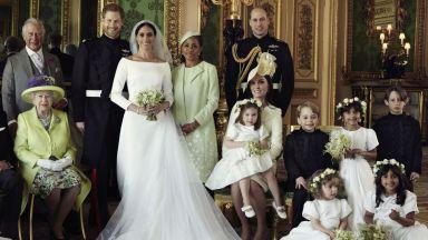 Принц Хари и Меган разпространиха официални снимки от сватбата (галерия)