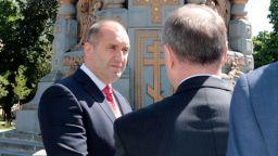 Радев от Русия: 10 години пауза в отношенията не е нормална
