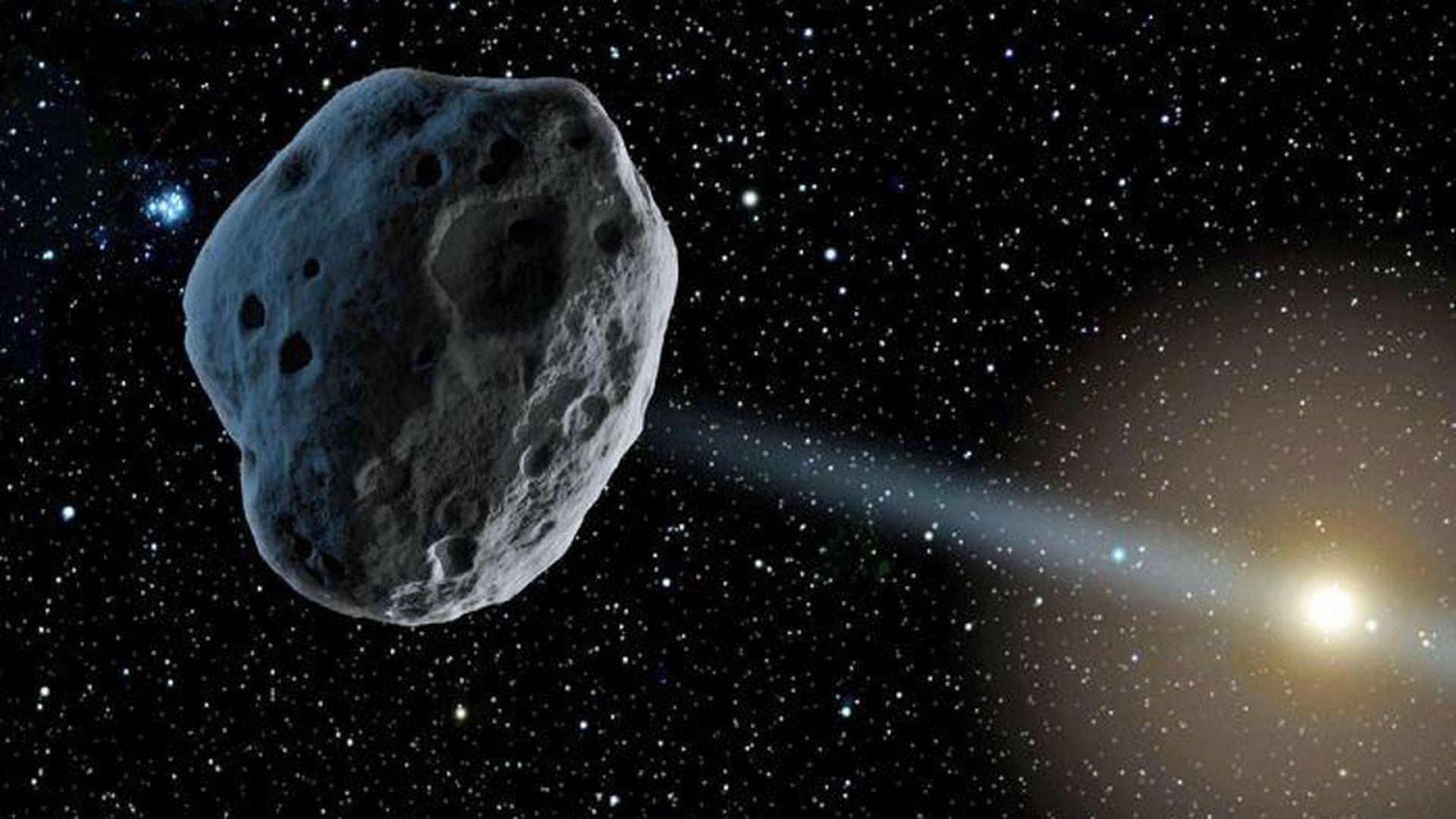 Астероид в орбитата на Юпитер е от друга звезда