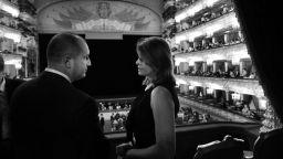Президентското семейство гледа опера в Болшой театър (снимки)