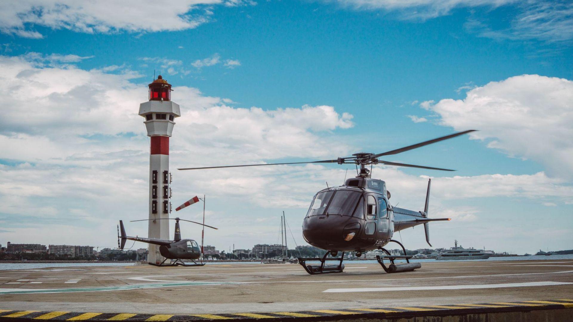 Хеликоптерите-таксита на Юбър завладяват Азия