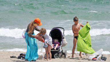 Бургазлии отидоха на плаж през май