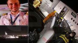 """Саудитски Airbus А330 със 151 пътници кацна """"по корем"""" (видео)"""