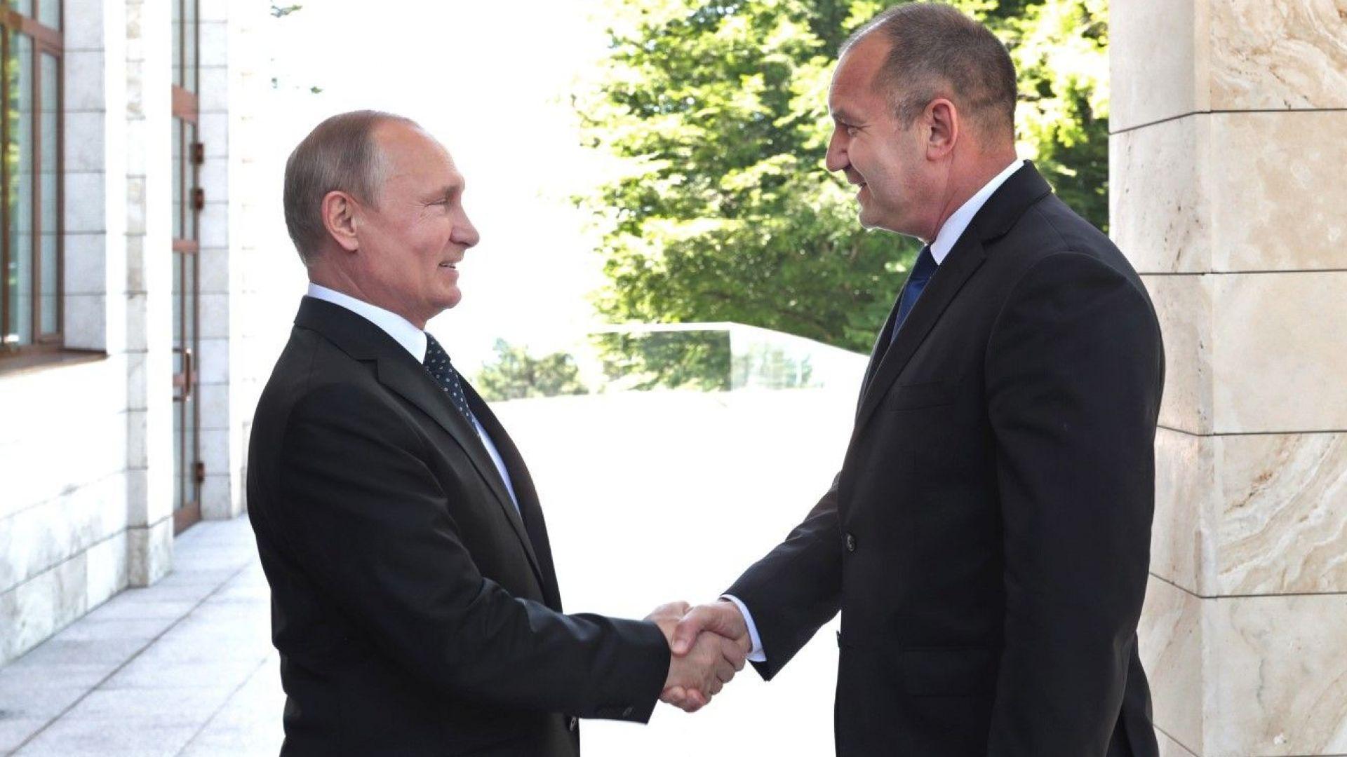 Русия третира Германия и Франция с респект, а България - с презрение