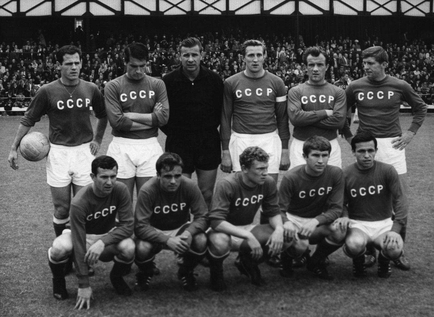 Отборът от 1966 г., стигнал до четвърто място в света. Снимка: Getty Images
