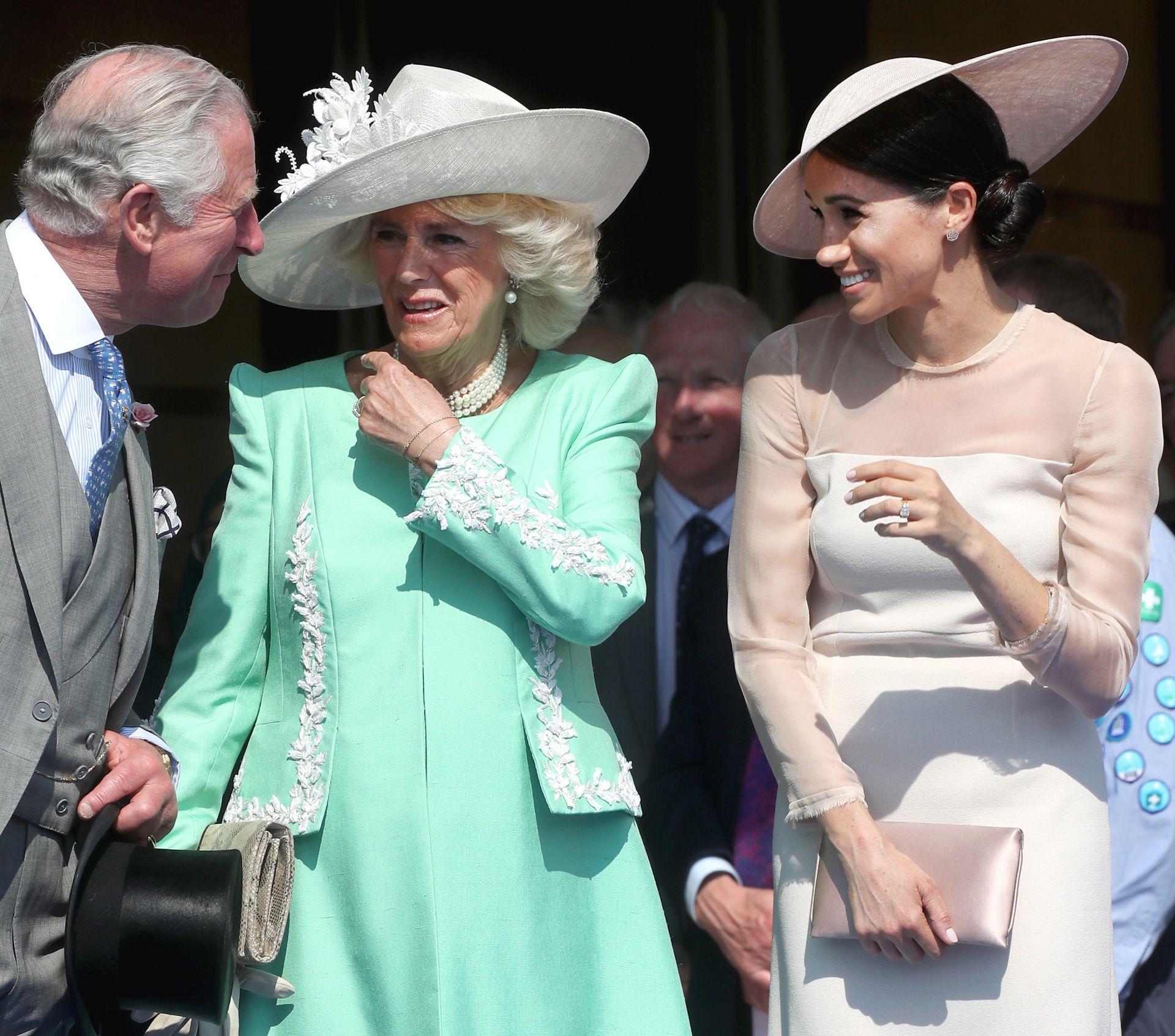 Принц Чарлз, херцогинята на Корнуол и херцогинята на Съсекс