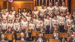 Първи голям концерт на Детския филхармоничен хор