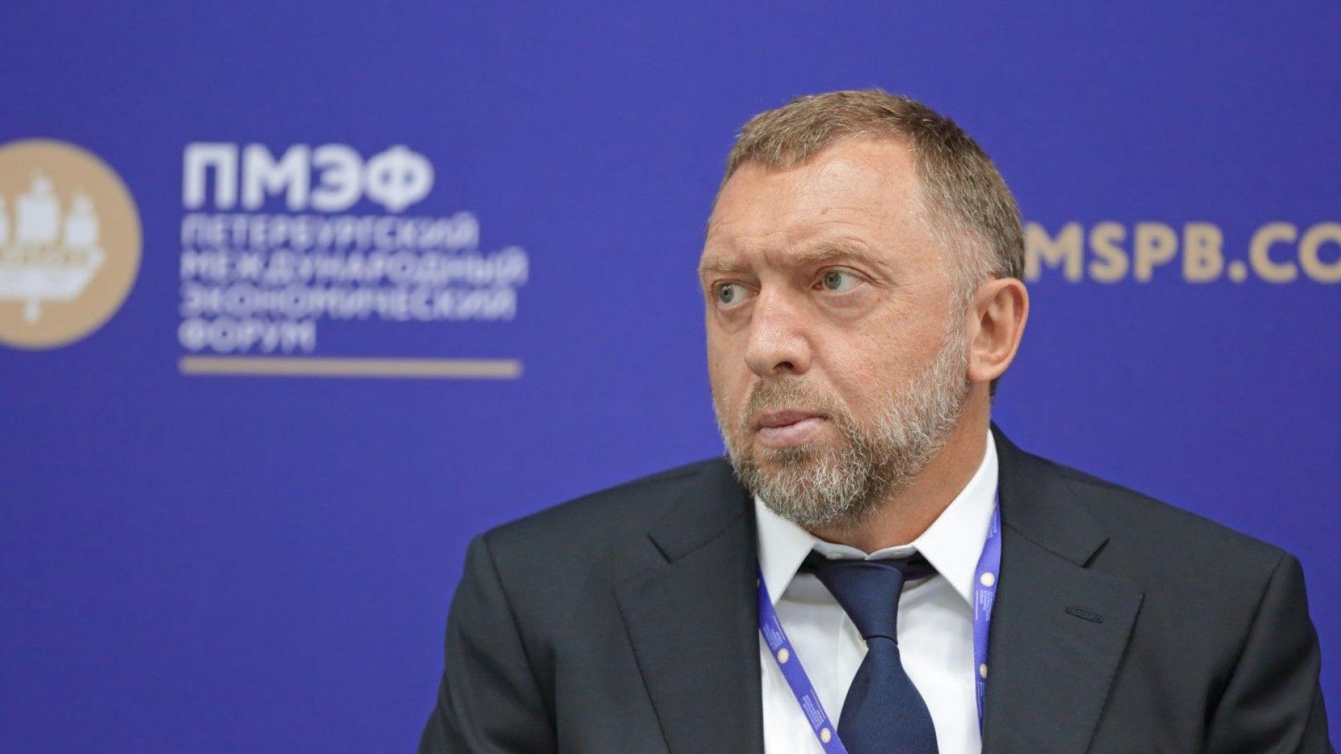 Руската ВТБ спира да работи с Олег Дерипаска