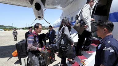 Журналисти от 4 страни тръгнаха към ядрения полигон на Пхенян