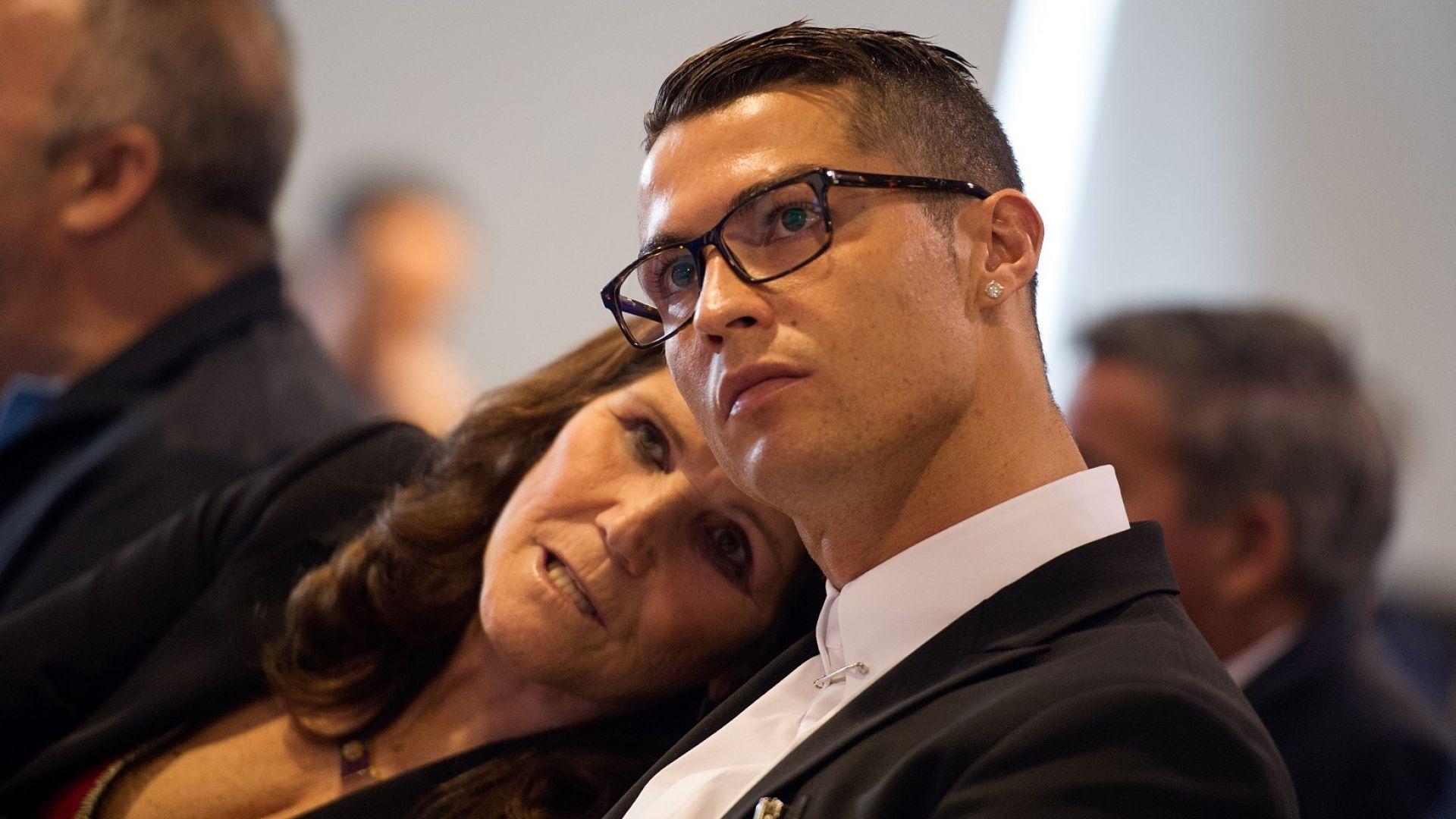 Роналдо отправи призив и даде вести за състоянието на майка си