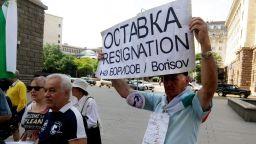 Пенсионери на протест срещу ниските пенсии и високите цени (снимки)