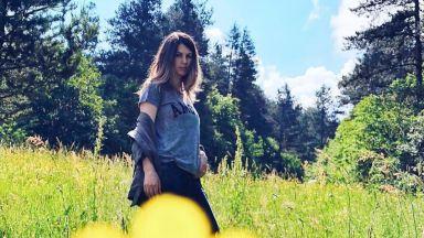 Цвети Пиронкова на почивка сред природата
