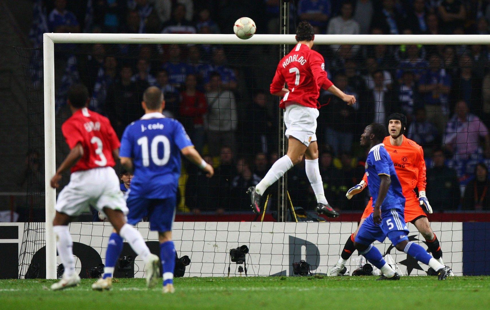 """Извънземният скок на Роналдо срещу """"Челси"""""""