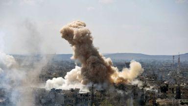 US самолети удариха сирийски позиции