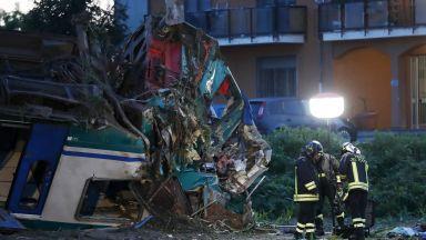 Двама загинали и 18 ранени при влакова катастрофа в Италия