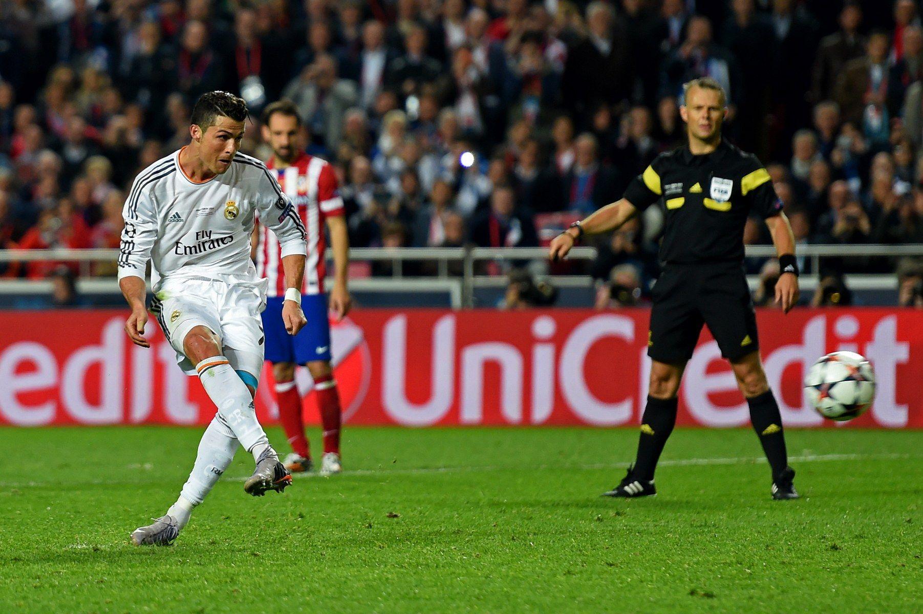 """Роналдо вкара дузпата за 4:1 срещу """"Атлетико"""""""