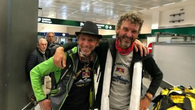 Италиански алпинисти: Ние последни разговаряхме с Боян Петров