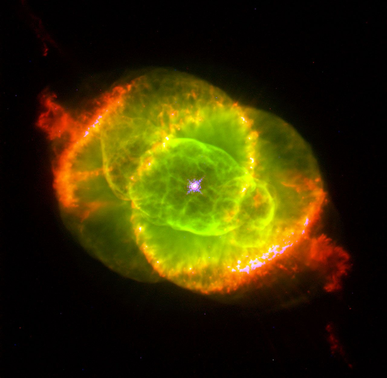 Мъглявината Котешко око