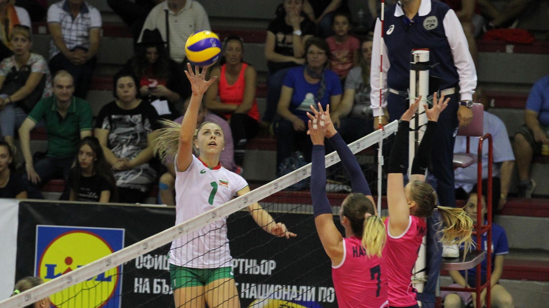 Силна България записа трета поредна победа в Златната лига