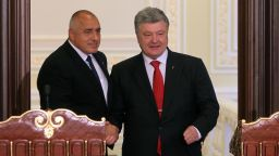 Борисов призова за мир в Киев и отиде на мач