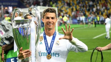 """Роналдо: Беше прекрасно да играя в """"Реал"""""""