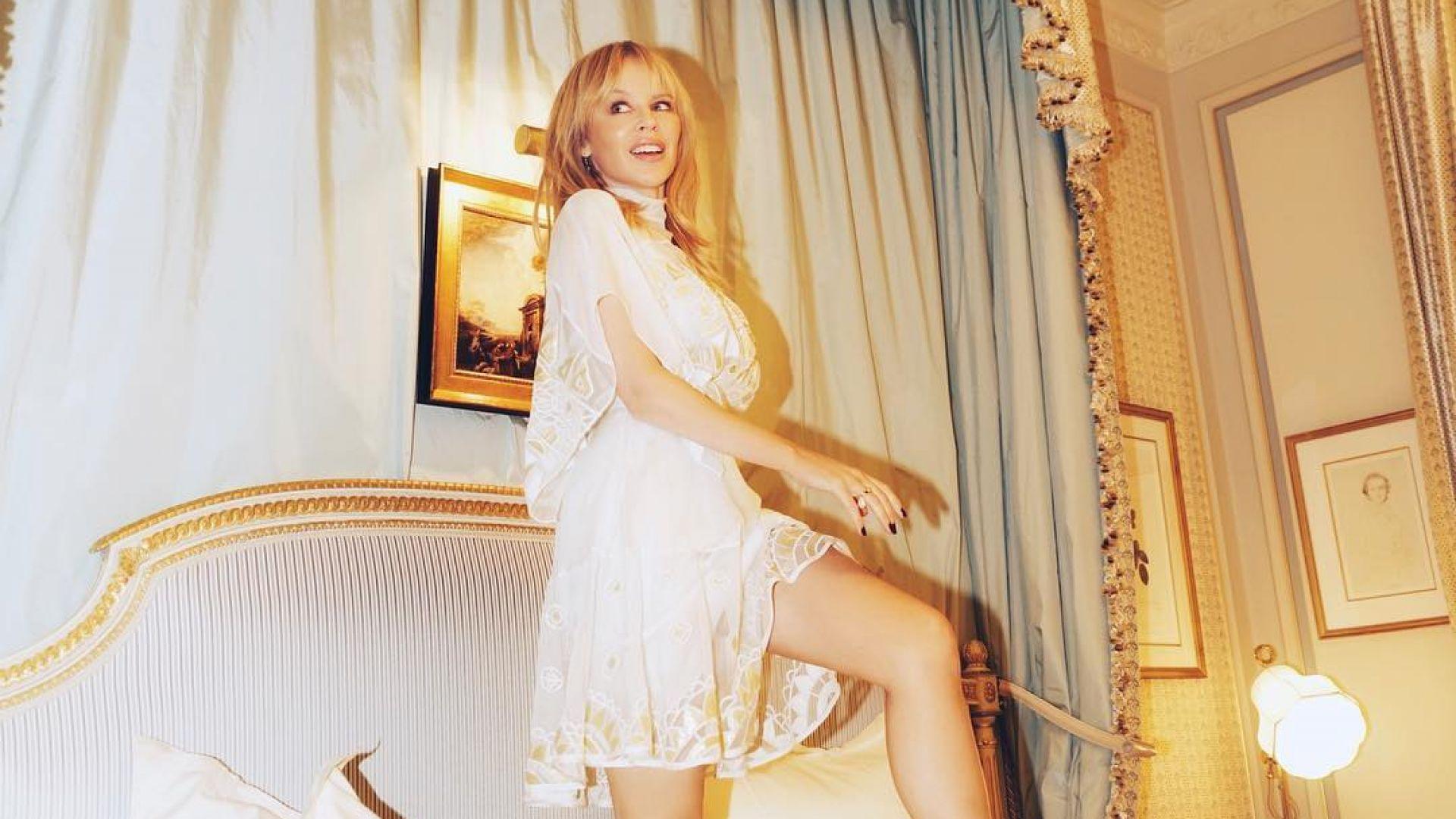 52-годишната Кайли Миноуг е сгодена, ще се омъжи за Пол Соломонс
