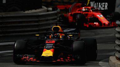 Страхотният Рикардо спечели в Монако