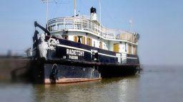 """Исторически събития оживяха на кораба """"Радецки"""" в Козлодуй"""