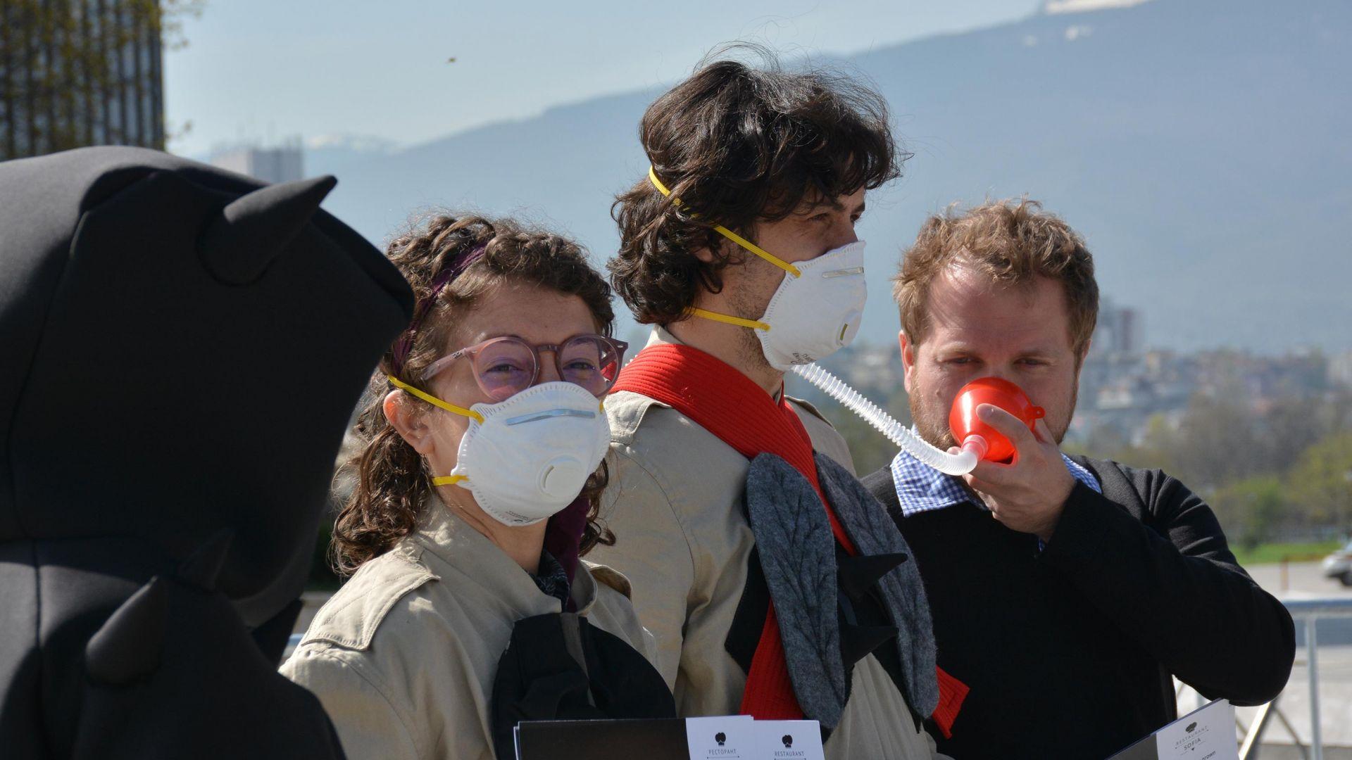 """Учен от БАН: Най-мръсен е въздухът в района на """"Цариградско шосе"""""""