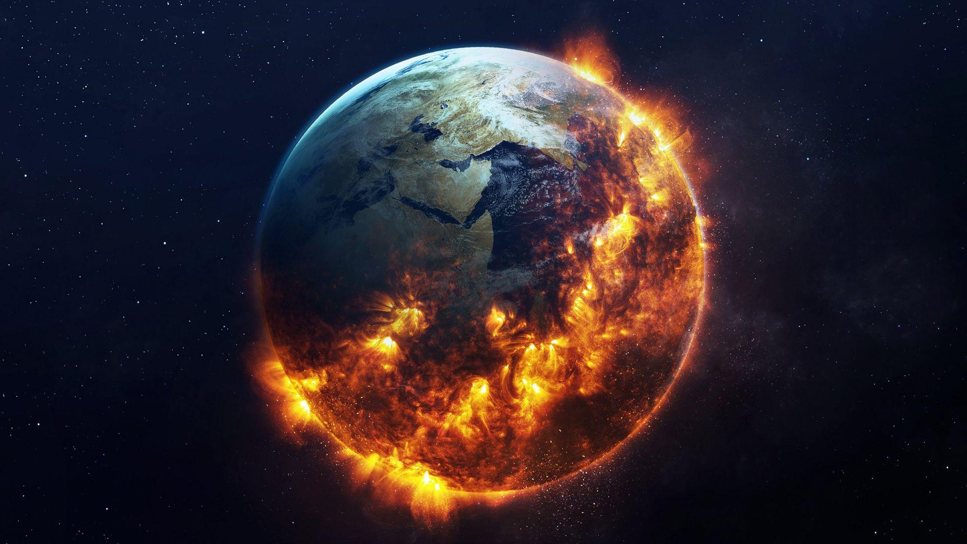 Животът на Земята е станал възможен след сблъсък с друга планета