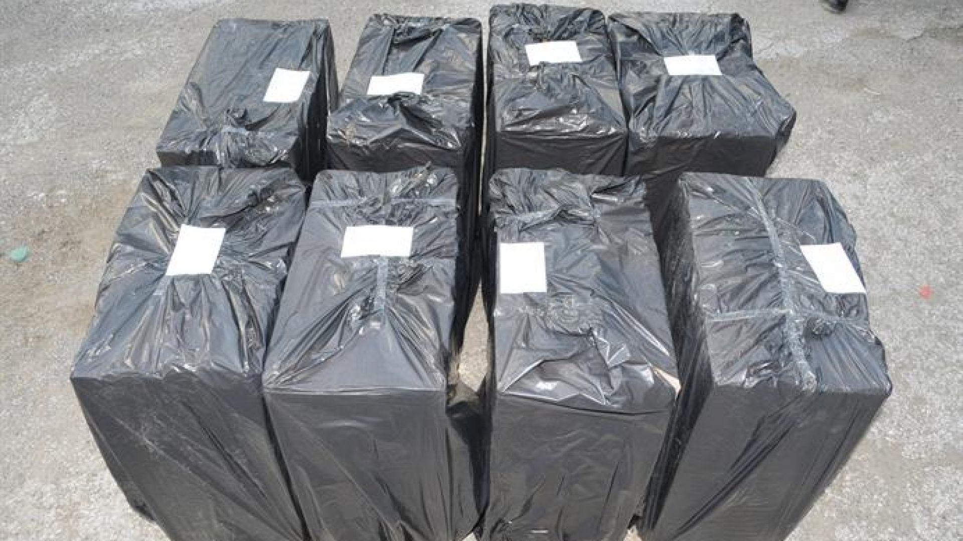 80 000 къса контрабандни цигари са иззети при спецакция
