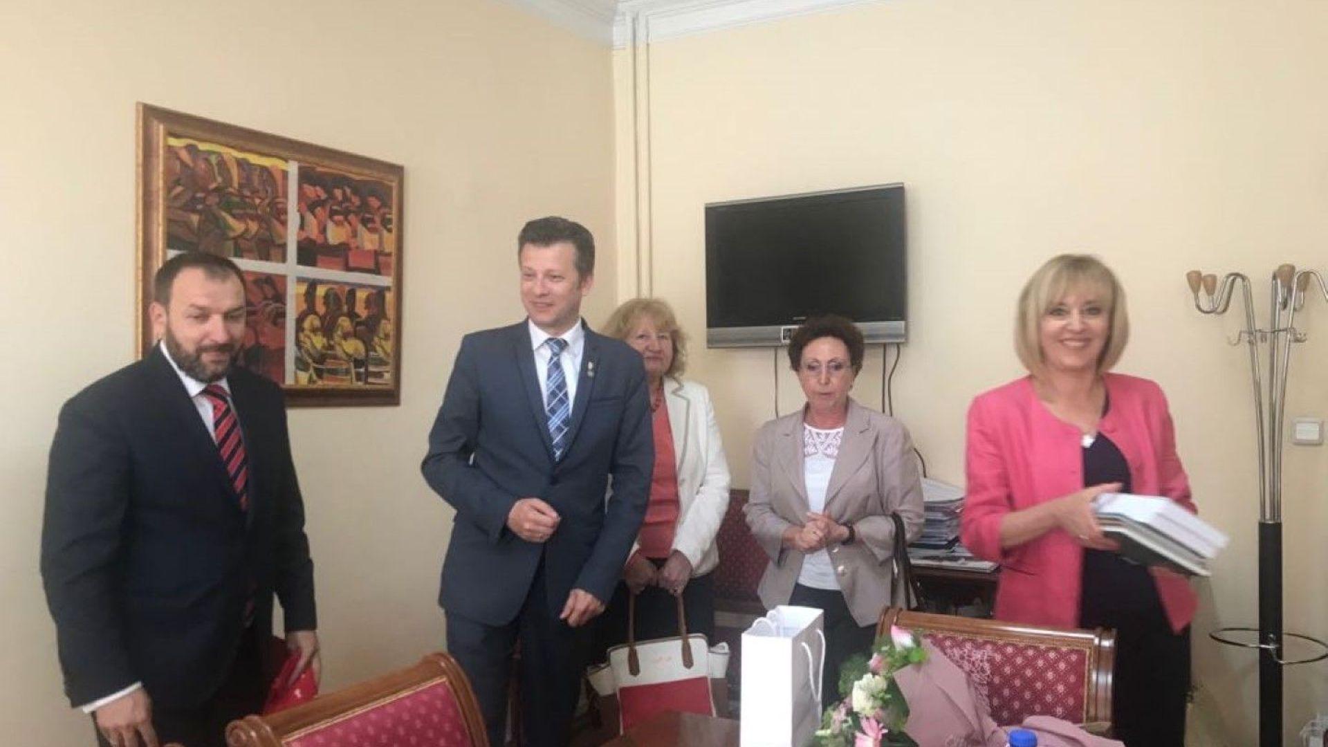 """На 1 юни омбудсманът Манолова дава старт на кампанията """"Без такса в детските градини"""""""