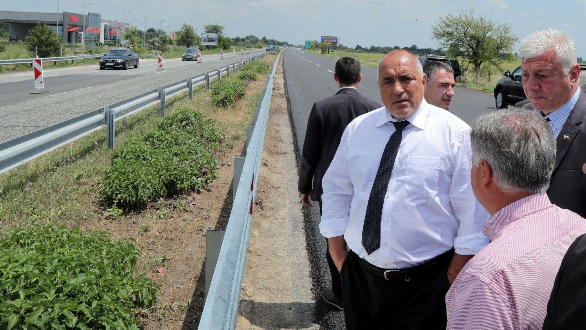 """Борисов даде срок до 15 юни ремонтът на """"Тракия"""" да приключи"""