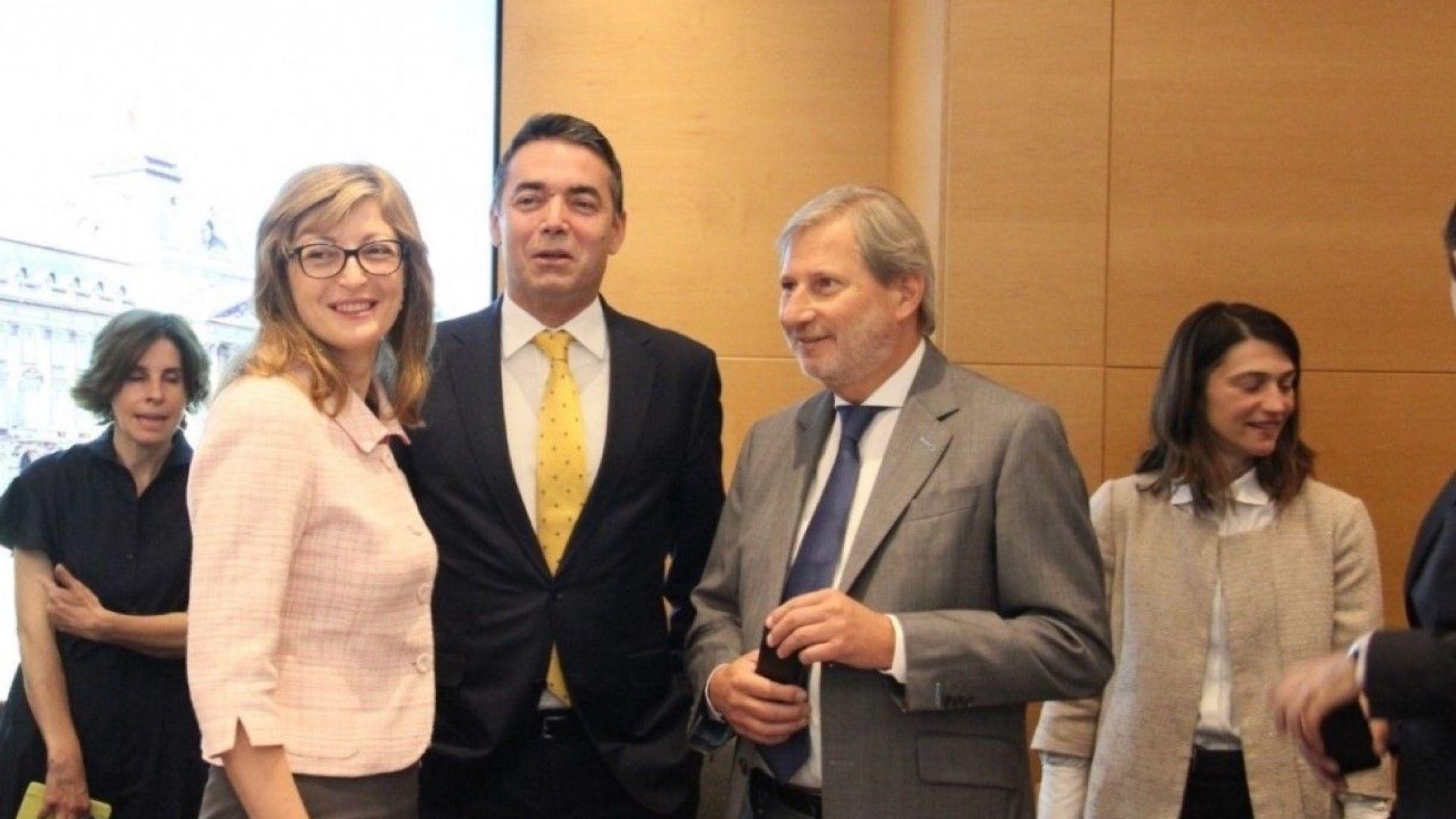 ЕС остава твърдо зад споразумението с Иран, обяви Екатерина Захариева